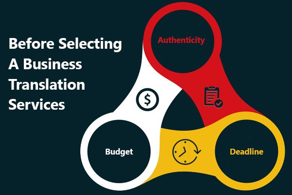 Business Translation Services