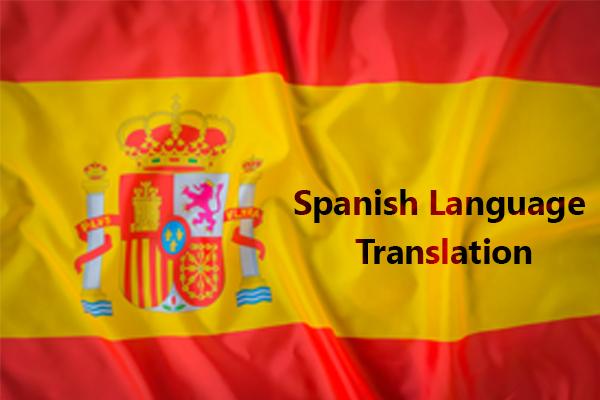 Spanish Language Translation